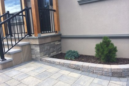 Porch, Stairs & Interlock