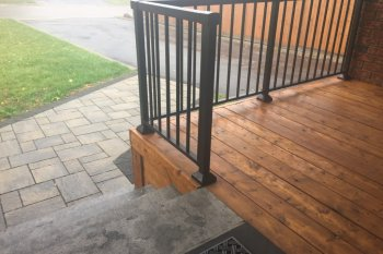 Front Porch, Stairs & Interlock