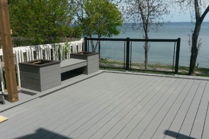 Composite Deck Build